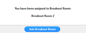 Join breakout room popup