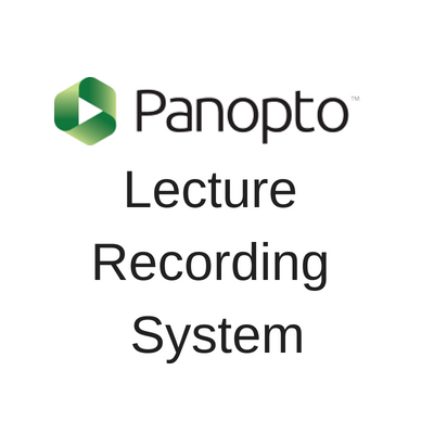 Panopto Lecture Recording System