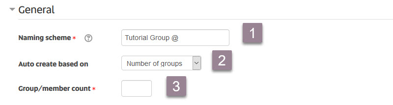 auto create groups_general settings