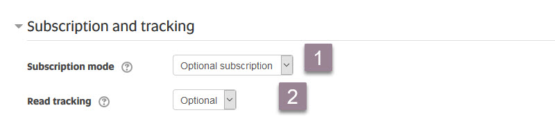 forum_subscription and tracking
