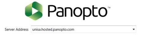 Panopto Server Address