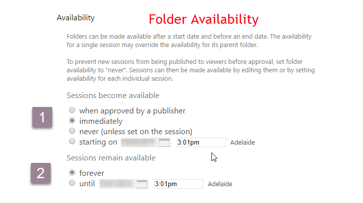 Panopto_folder availability