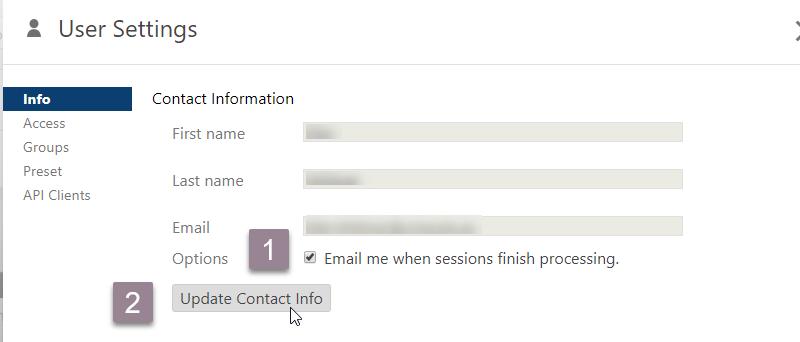 Panopto_user settings_contact info
