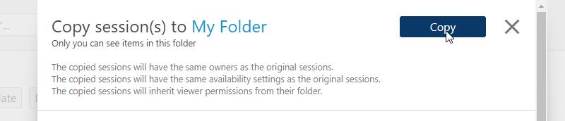 Panopto_copying multiple videos_folder_confirm
