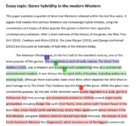 using turnitin interpreting the originality report essay