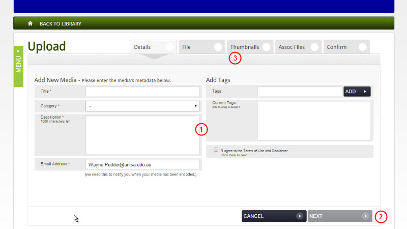 Add information on Details page