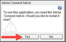Adobe Connect Add-in