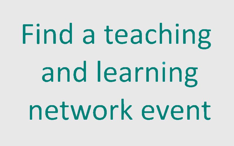 Find a teaching and learning network event
